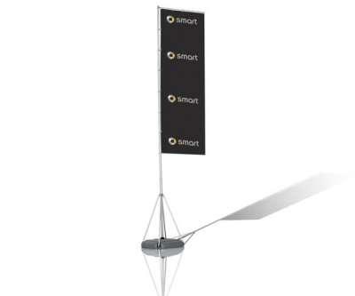 Mobiler teleskop fahnenmast fahnen maste beachflags fahnen